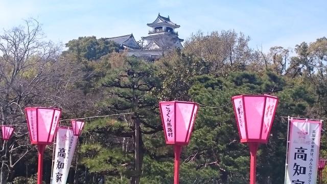 大名から高知城