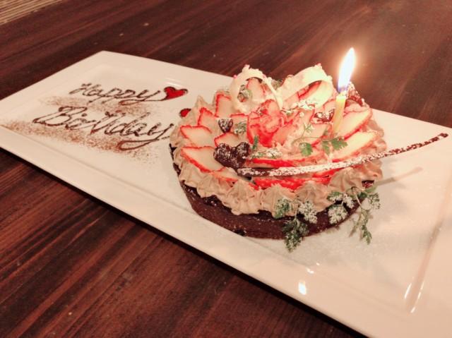 おとうふショコラケーキ 記念日のお祝いにいかがでしょうか✨✨