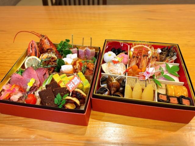 おせちのご予約お待ち申し上げます。¥22000税込み