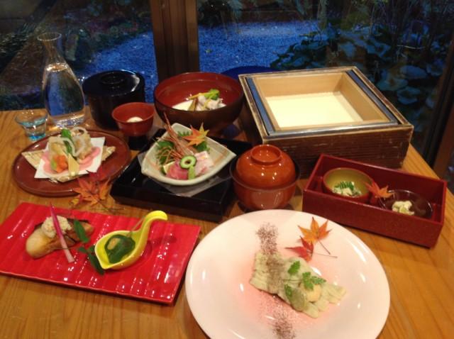1月、2月 季節の会席 *寒梅(かんばい)* ¥5000(税別)